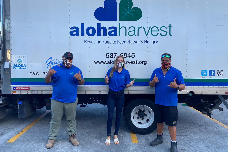 Aloha Harvest Means With Aloha