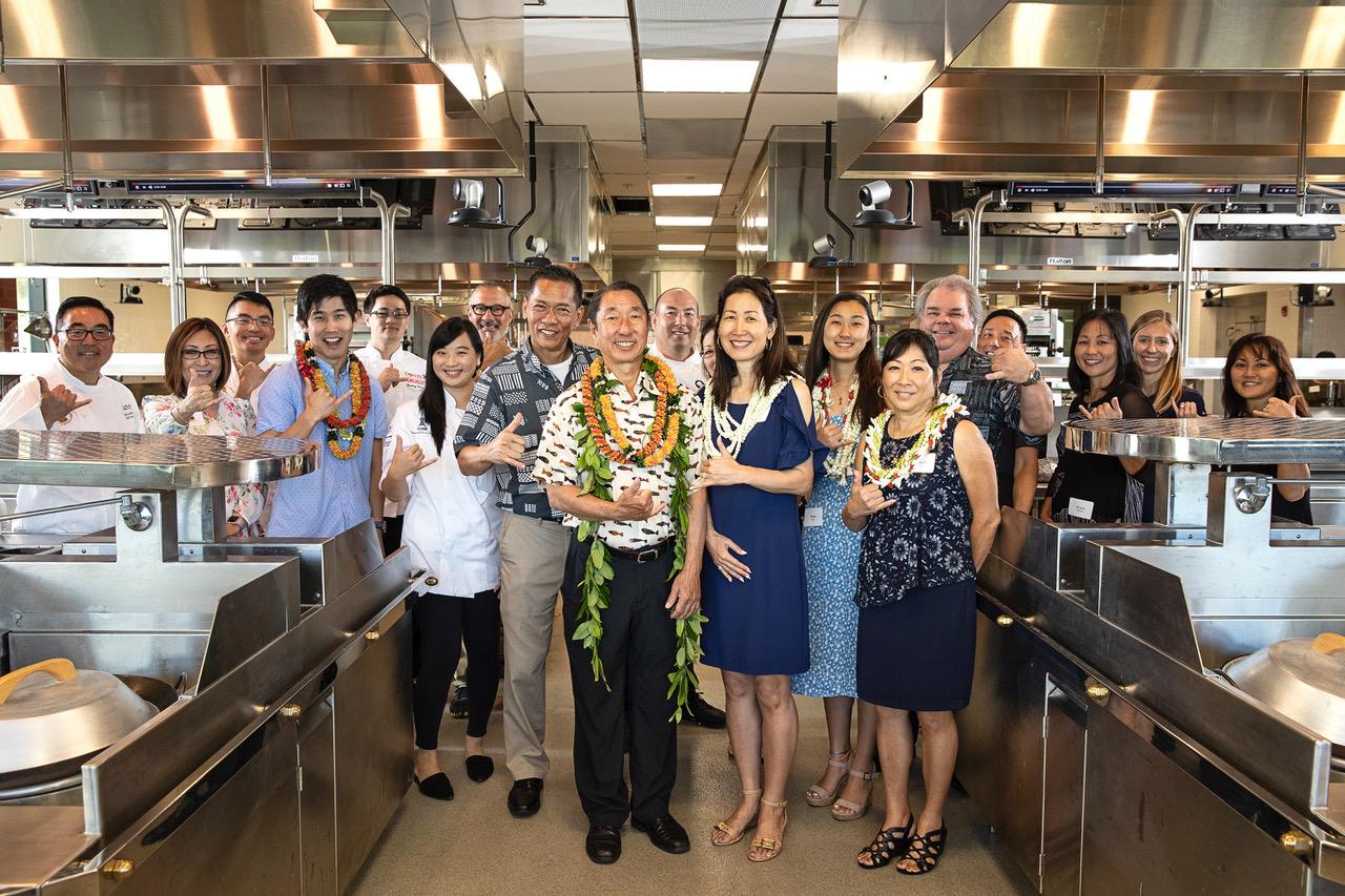 Dedication of the Y. Hata Advanced Pacific Regional Culinary Lab at Kapiolani Community College