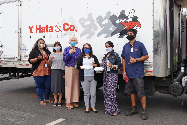 Hata Cares at Hale Kipa