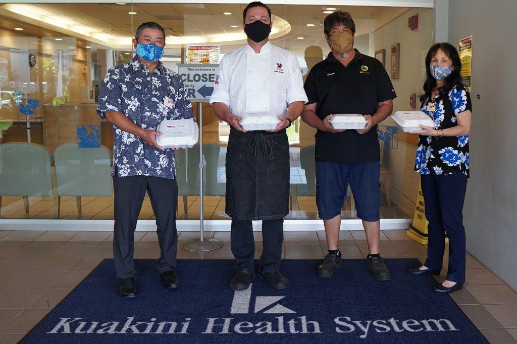 Hata Cares Meals Kuakini Medical Center