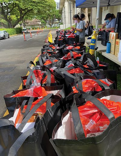 Y. Hata Donates Spam® to the Punahou PUEO Program