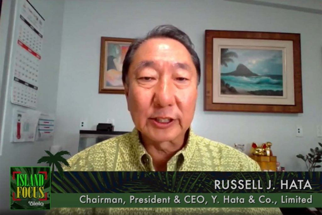 Russell Hata Discusses Food Sustainability in Hawaii